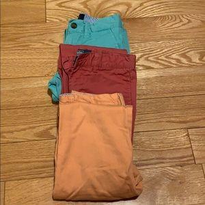 Boys size 5 pants set of three (used)